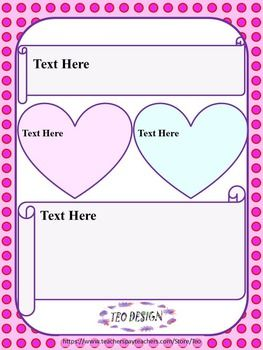Mothers day fathers day editable powerpoint templates free editable template hearts personal or commercial use template for a classroom newsletter powerpoint slide design box titles can be edited to fit toneelgroepblik Gallery