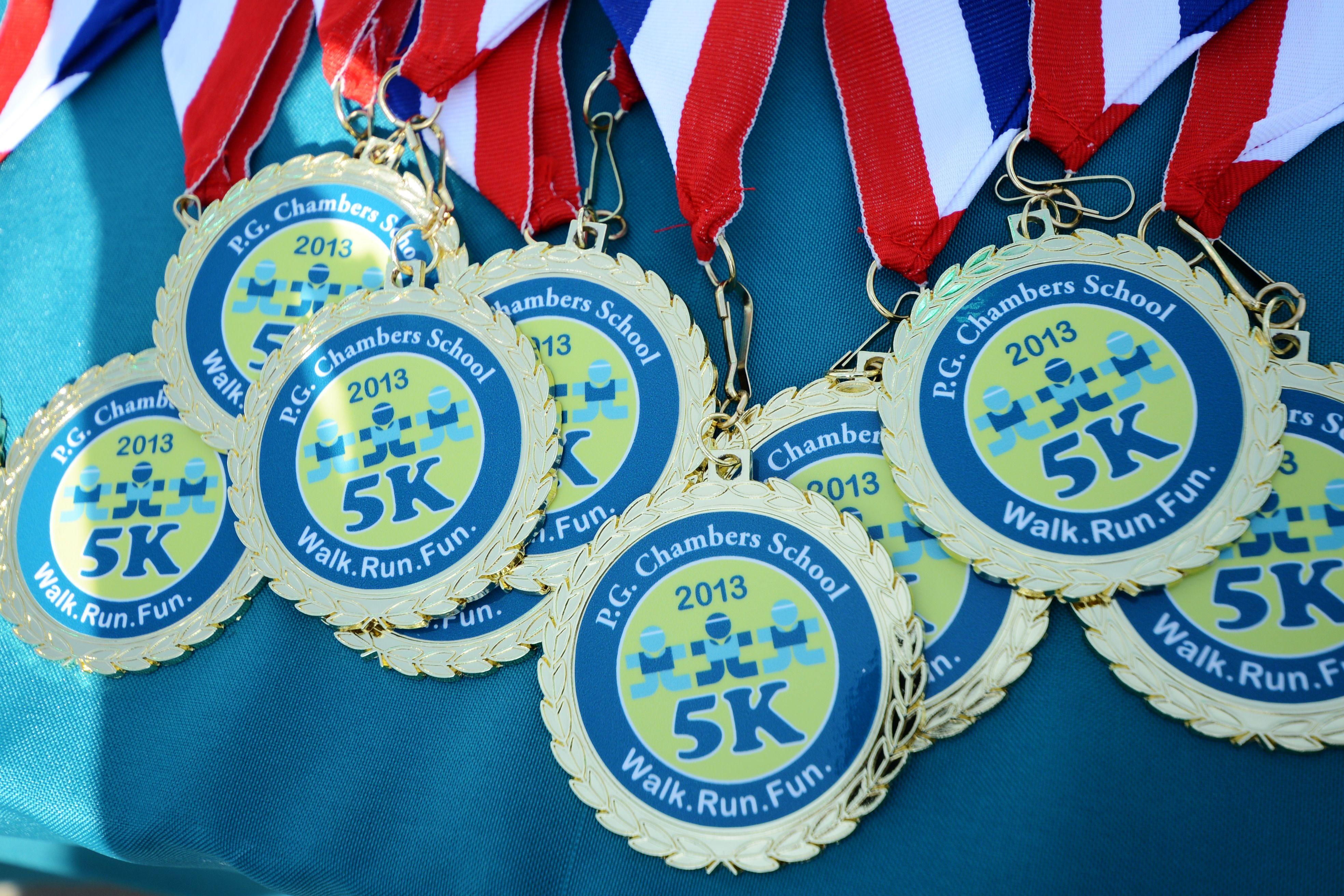 Walk Run Fun 5k Winner Medals Ambersschool