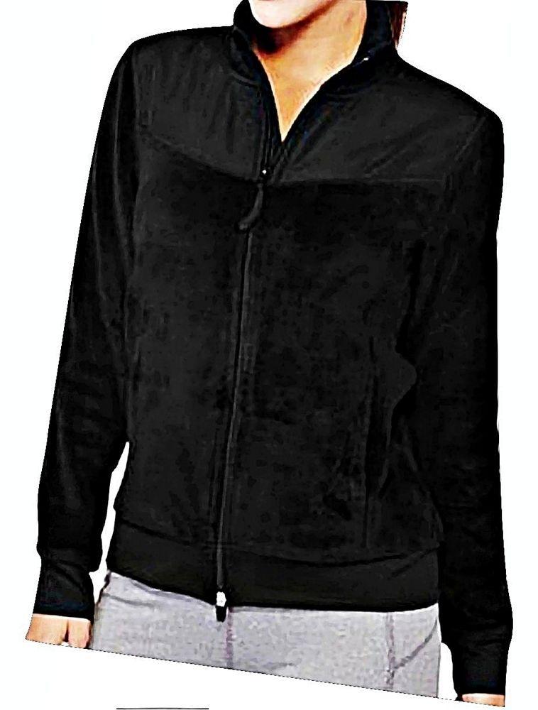 Athletic Works Women's Essential Full Zip LS Sport Fleece