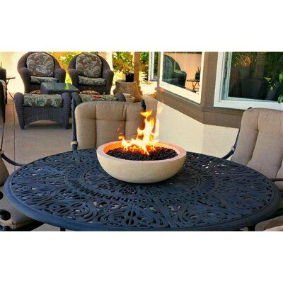 Fire Topper Propane Tabletop Fireplace Finish Suffolk Tan