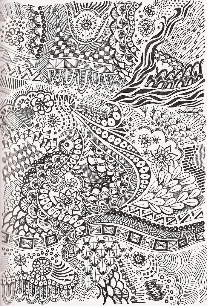Tangle zentangle beautiful book covers and doodles
