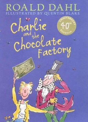 Charlie and the chocolate factory by Roald Dahl book cover | Roald ...