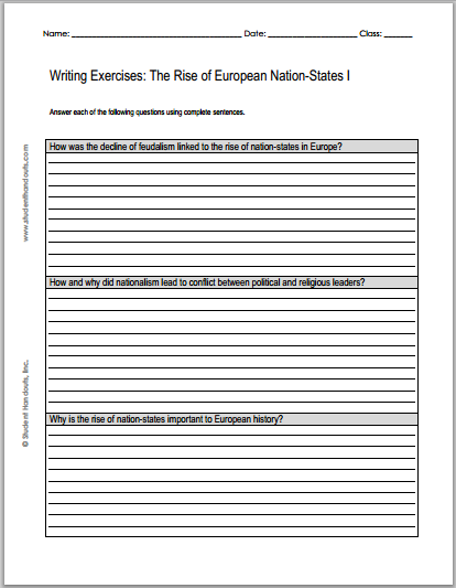 Descriptive Essay Sample About A Place  How Was The Decline Of Feudalism Linked To The Rise Of Nationstates In  Europe  How And Why Did Nationalism Lead To Conflict Between Political  And  Narrative Interview Essay Example also Federalist Vs Anti Federalist Essay  How Was The Decline Of Feudalism Linked To The Rise Of Nation  Essay On Charity