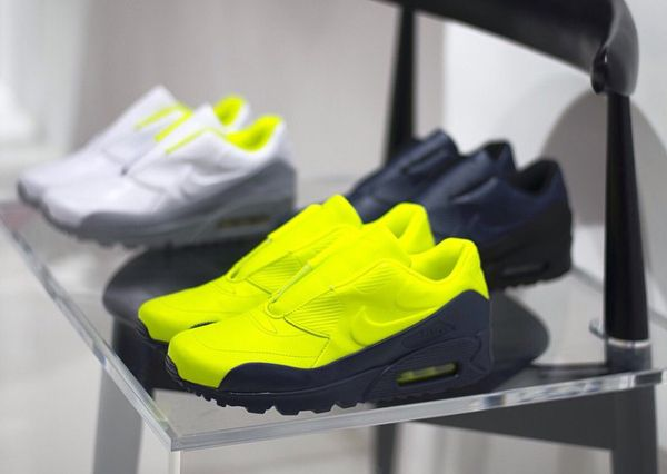 nike homme chaussures fluo