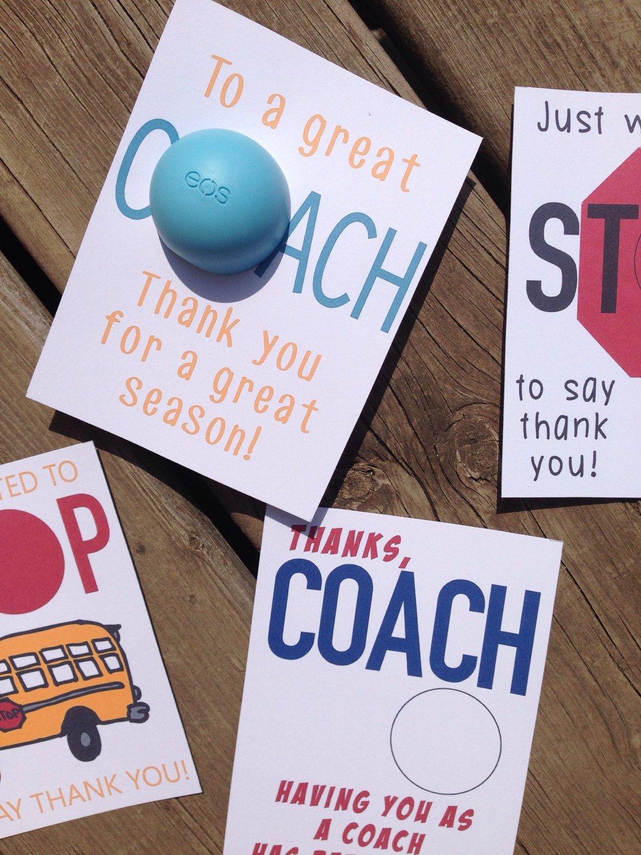 Bus driver crossing guard coach thank you cardsgift