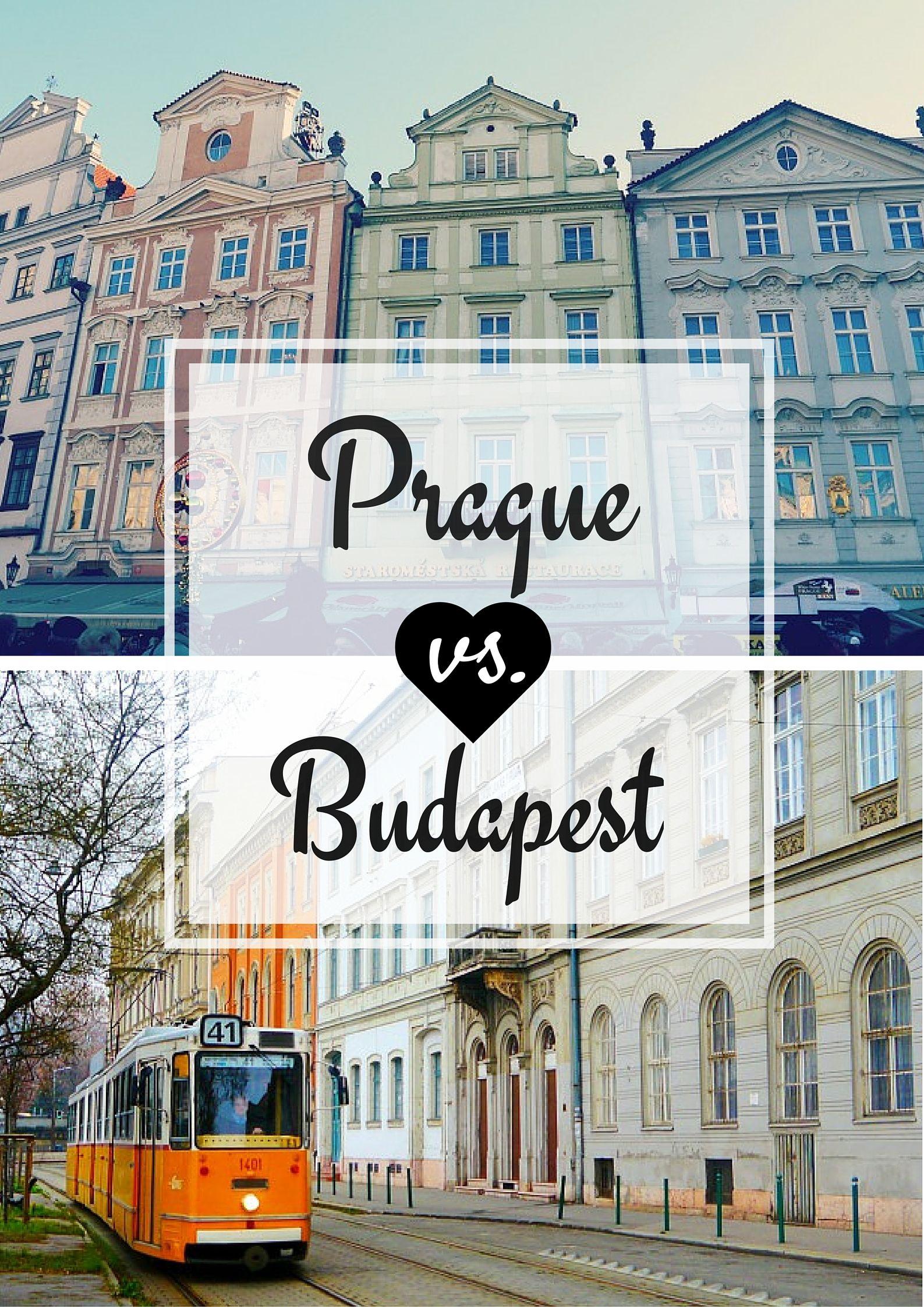 prague vs budapest in 2019 | budapest, prague, city