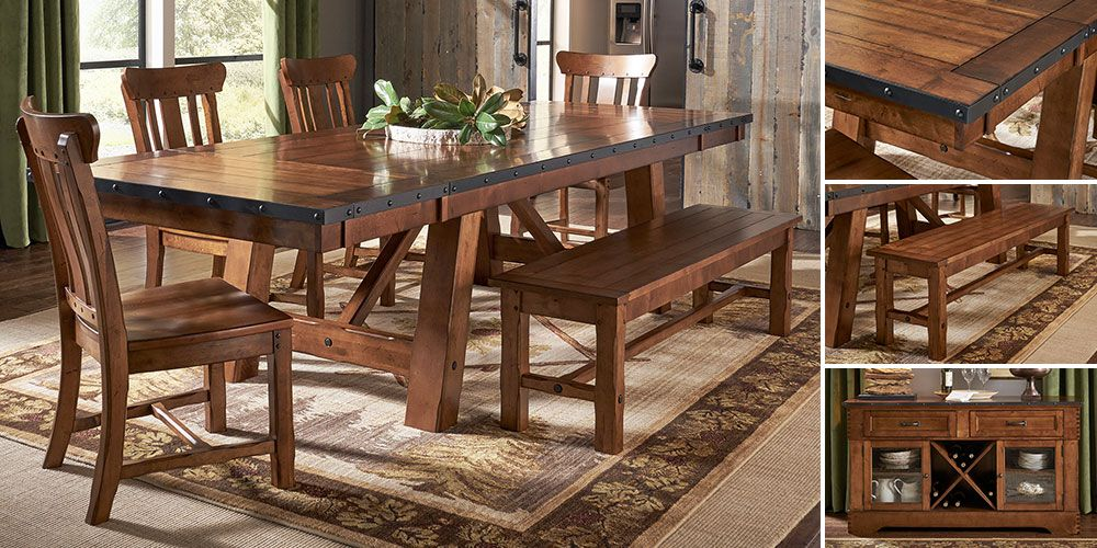 Billings Dining Collection Dining Rustic Dining Table Home Decor