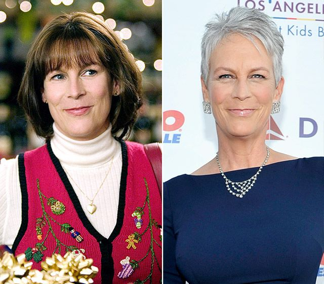 Jamie Lee Curtis Left Curtis In 2004s Christmas With The Kranks Right Curtis At The Childrens Hospital Los Angeles Gala In October 2014
