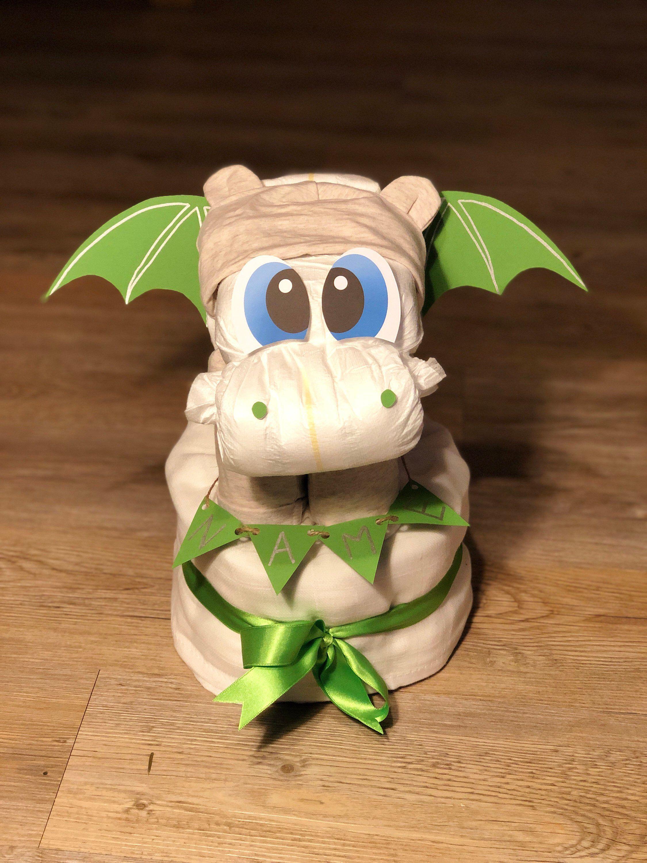 Diaper Dragon Diaper Tart Baby Baby shower Gift Neutral