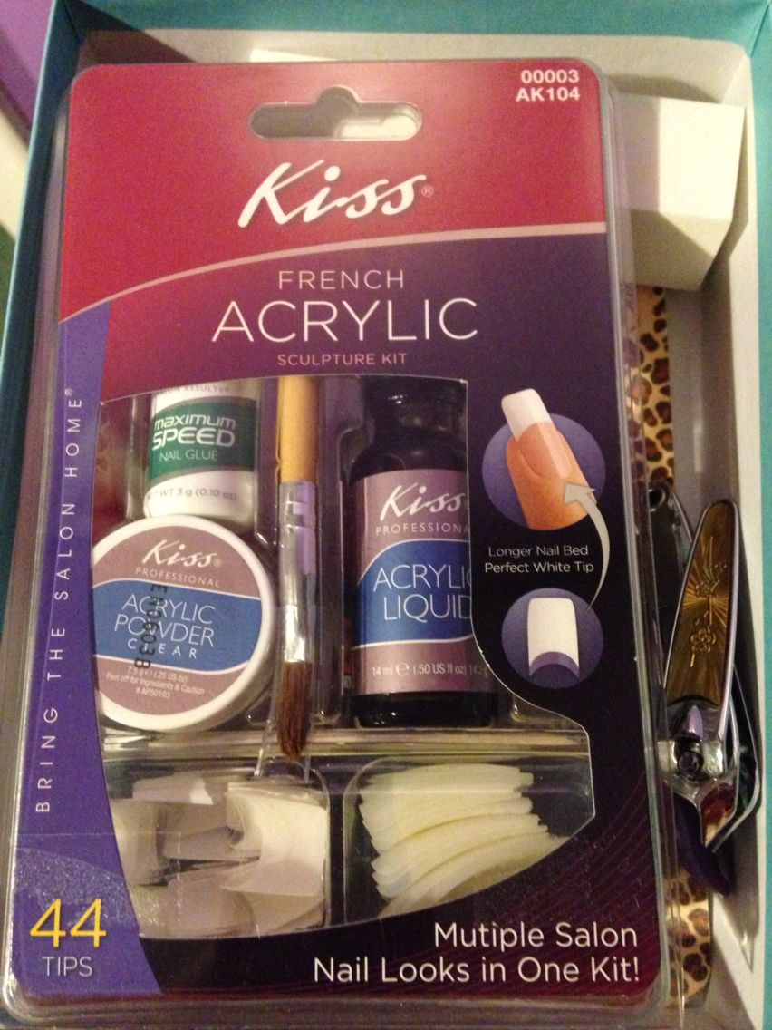 Kiss Acrylic Nail Kit | Nails and Nail Art | Pinterest | Acrylics ...