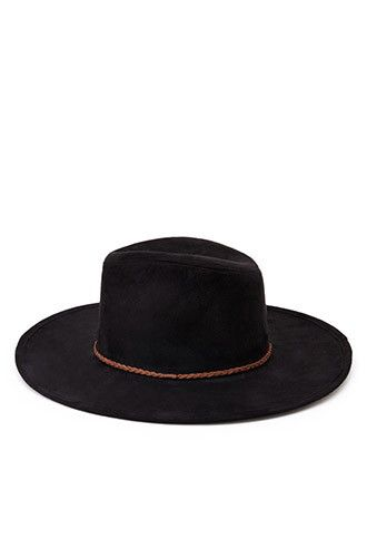 Faux Suede Fedora   Forever 21 - 2000167200