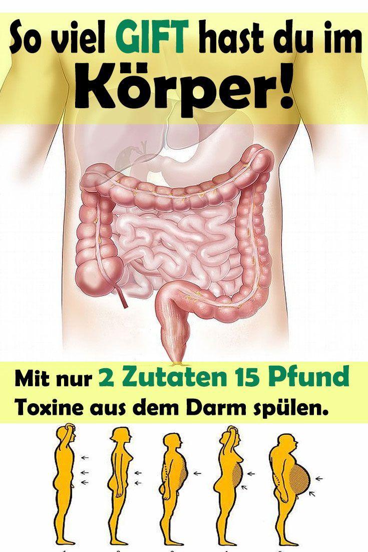 Ecco quanto veleno hai nel tuo corpo – con solo 2 ingredienti, elimina 30 libbre di tossine dall'intestino. e così funziona