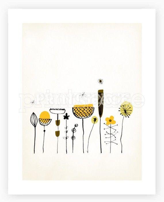 The Garden Art Print @ printspace