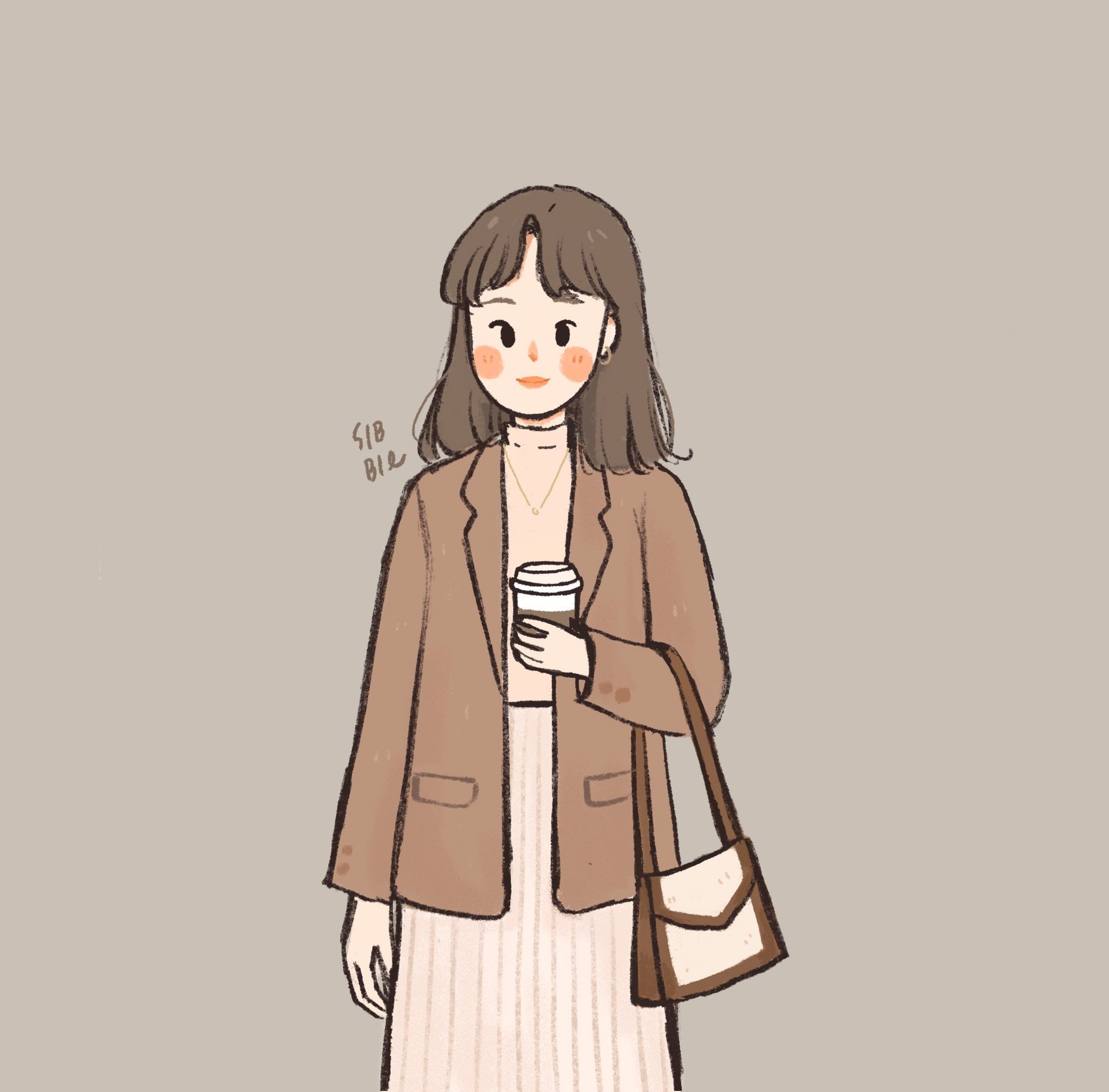 Sibbil On Twitter Girls Cartoon Art Cute Art Cute Drawings