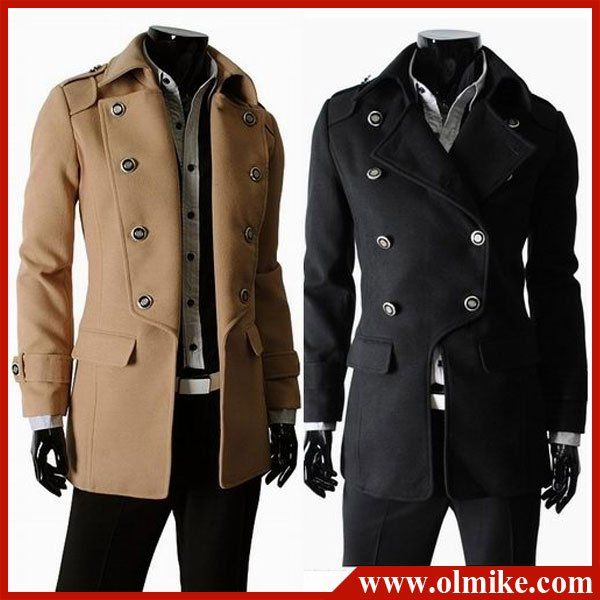 Aliexpress.com : Buy Free shipping Double Breasted Jackets Men ...