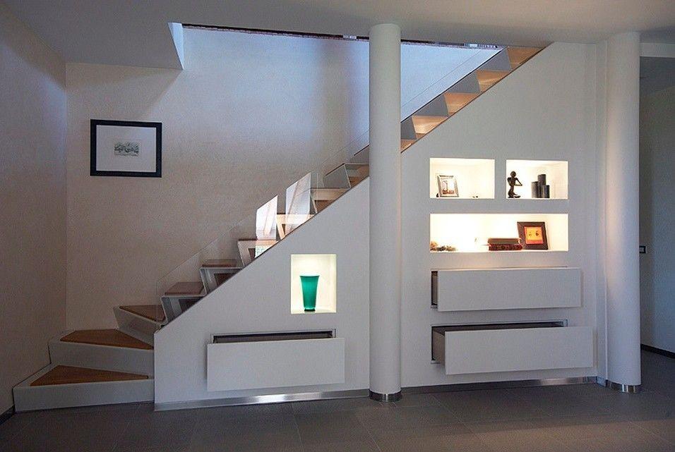Arredare il sottoscala complementi su misura per arredare il sottoscala scala scale interne - Arredare sottoscala soggiorno ...