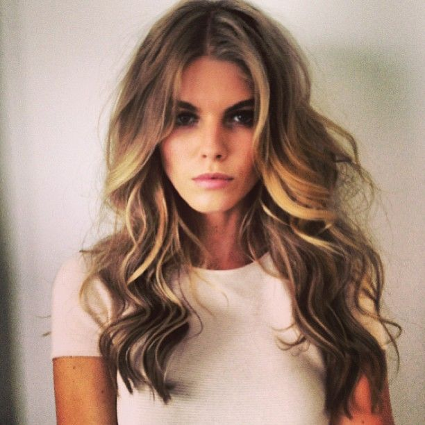 Pretty Loose Curls Hairstyles I Want To Try Pinterest Cabello - Peinados-de-melenas