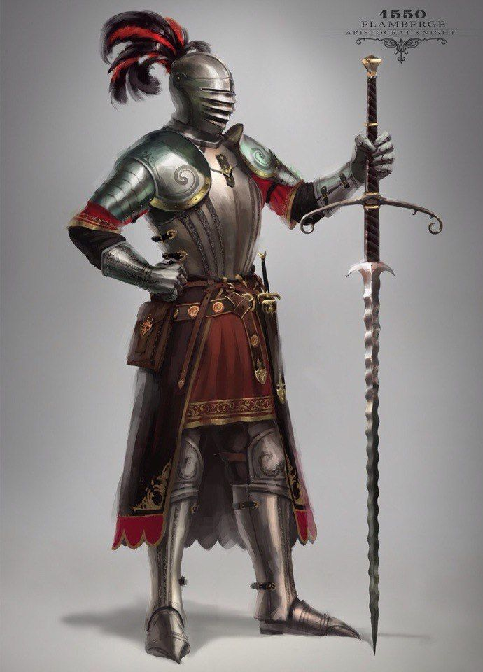 Knights by Max Yenin | Medieval concept art | Pinterest ...