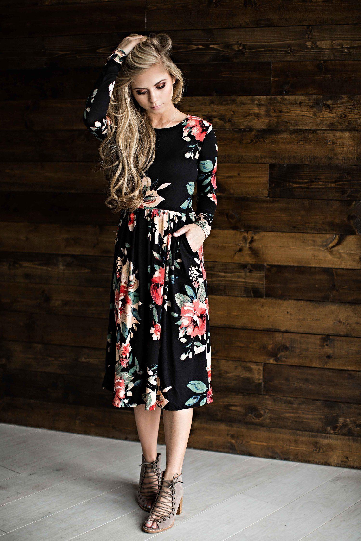 b0beef55a4d floral dress