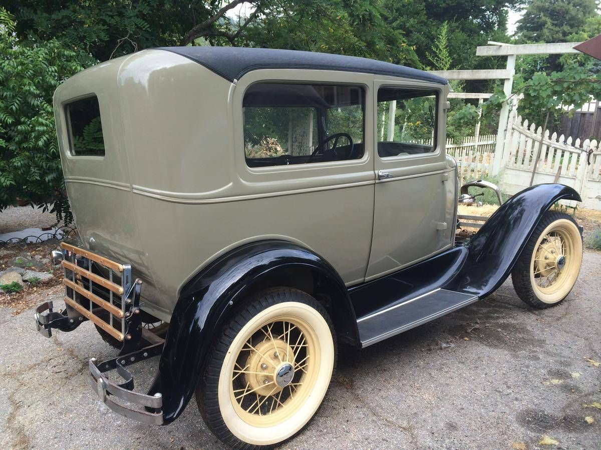 1930 Ford Model A Tudor Sedan For Sale Hemmings Motor News Vintage Cars Ford Models Classic Cars Trucks