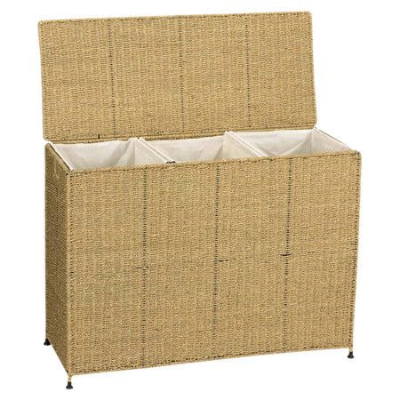 Rolling Seagrass Laundry Basket Product Laundry Basketconstruction Material Wire Fabric And With Images