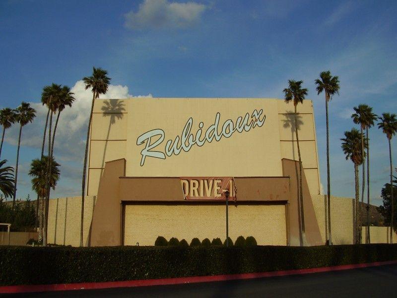 Mt rubidoux drive in