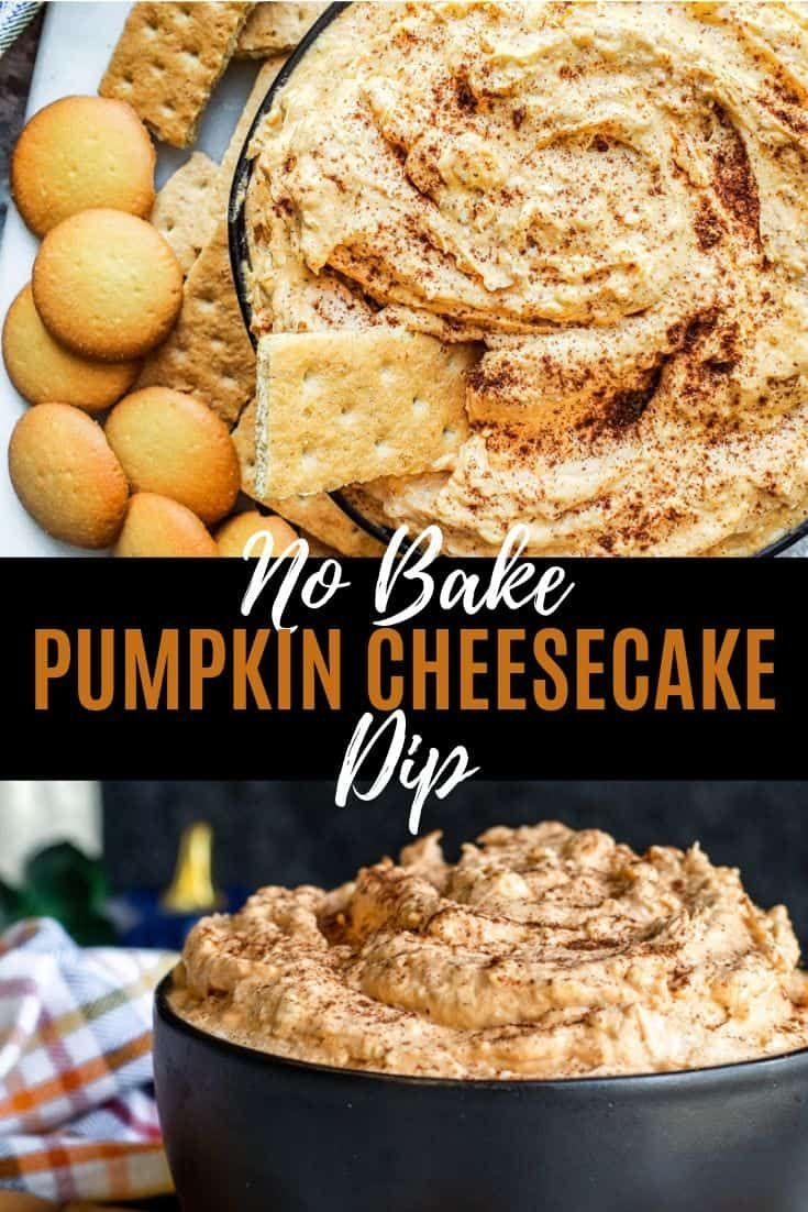Dieser No-Bake-Kürbis-Käsekuchen-Dip ist in nur 10 Minuten fertig und ... - #Dieser #fertig #ist #Minuten #NoBakeKürbisKäsekuchenDip #nur #und #pumpkincheesecake