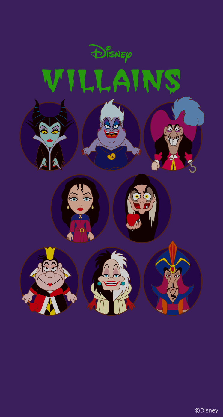 Disney Villains Villanos Disney At Dgiiirls Villians Villanos