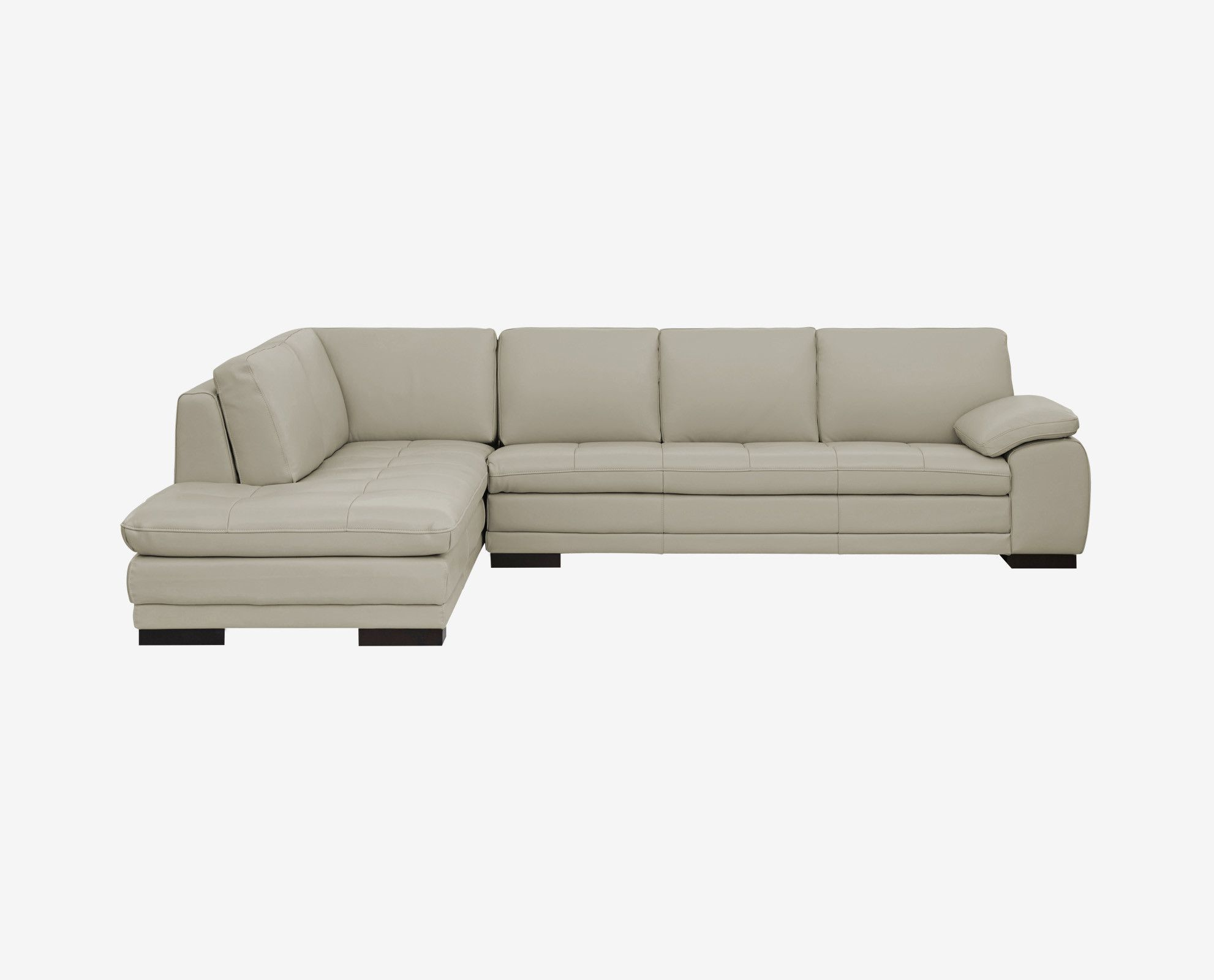 cercis leather sectional left chaise leathersectionalsofas rh pinterest co uk