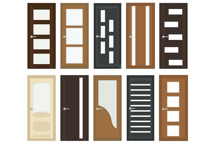 Types Of Doors Based On Material Manufacture