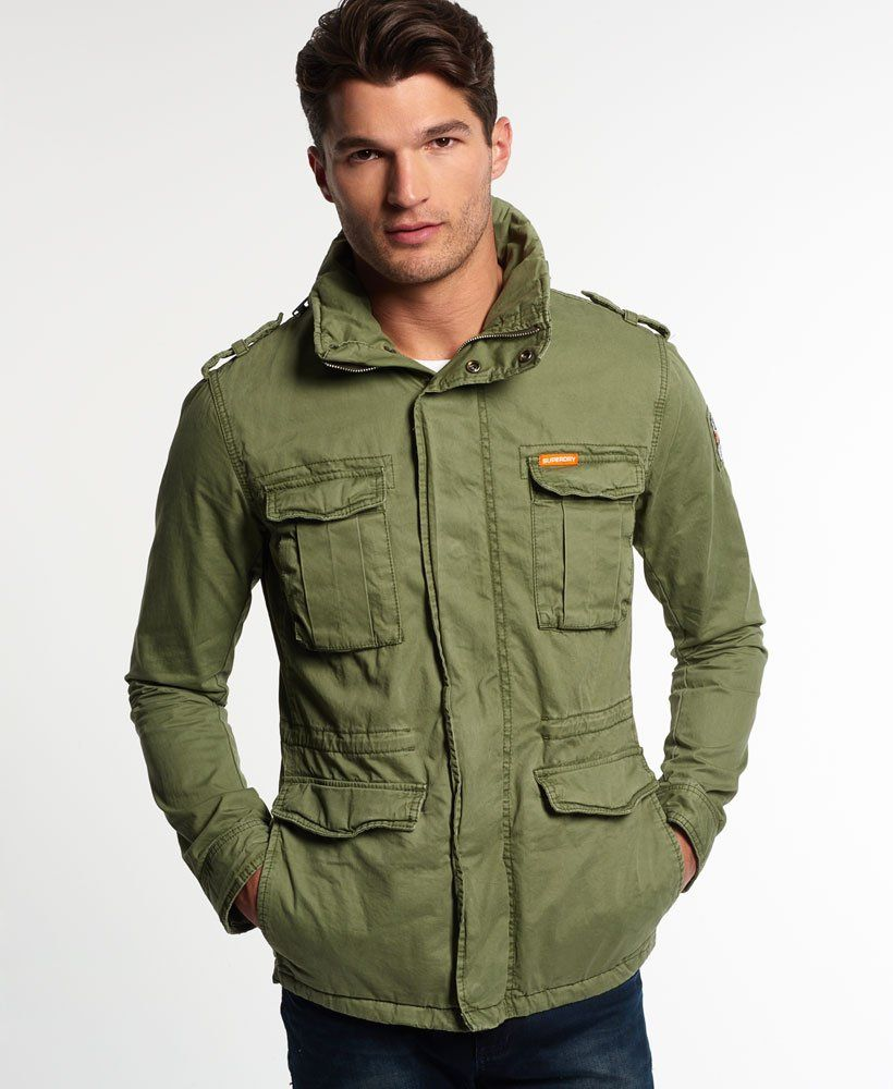 low priced 7dfa0 0d95c Superdry Rookie Military Jacke | jacket in 2019 | Military ...