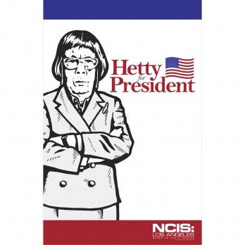 NCIS: Los Angeles Hetty For President Poster