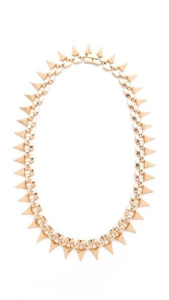 Noir Jewelry Metal Mix Triangles Necklace