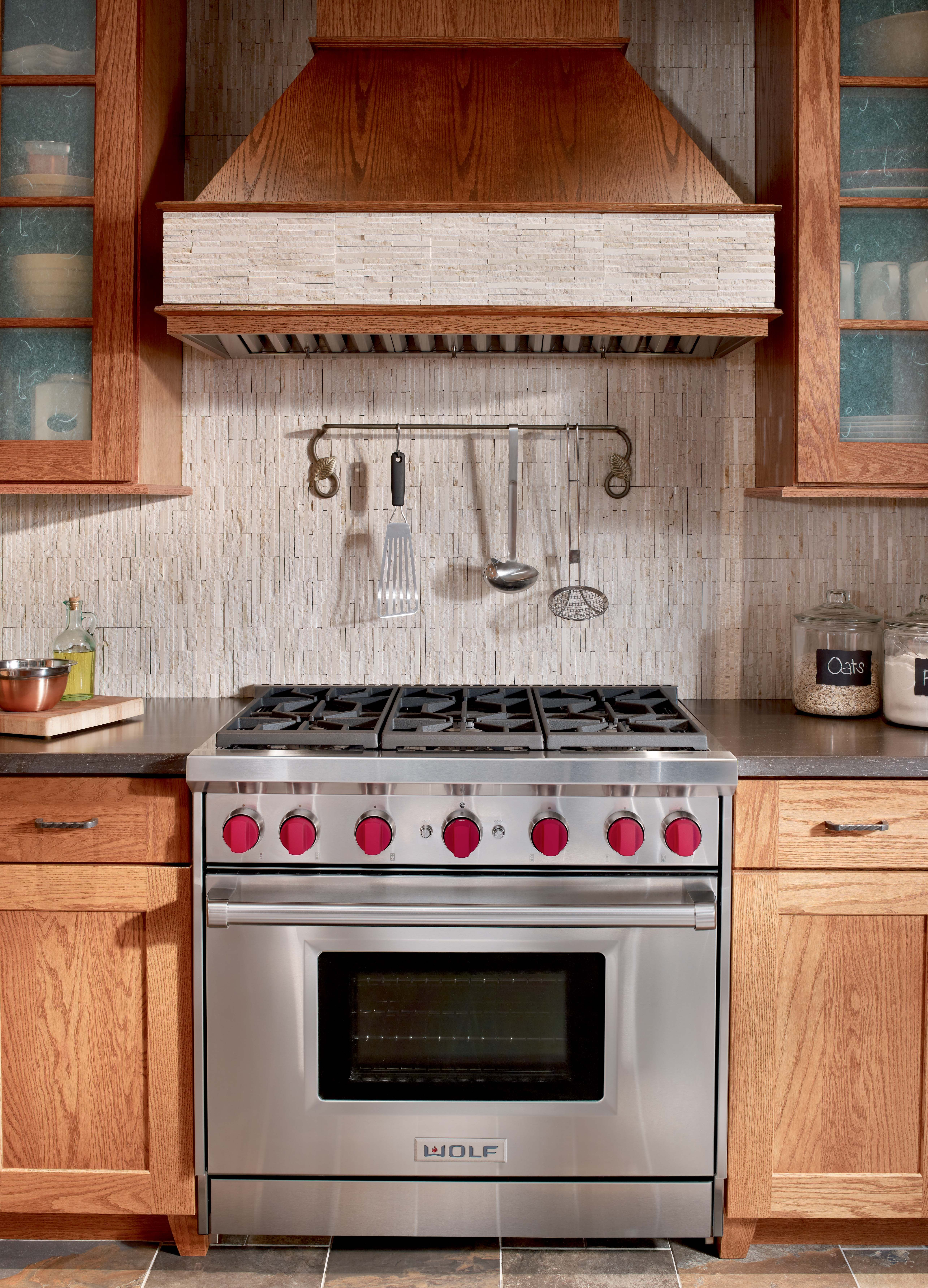 Kitchen Cabinets With Red Knobs You Ll Never Feel The Need To Cross Your Fingers When You Turn One