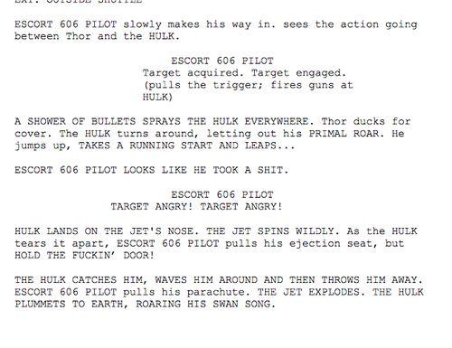 Angry Hulk Scene - Script | Marvel Universe | Avengers universe