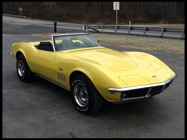 1969 Chevrolet Corvette Chevrolet Corvette Corvette Convertible
