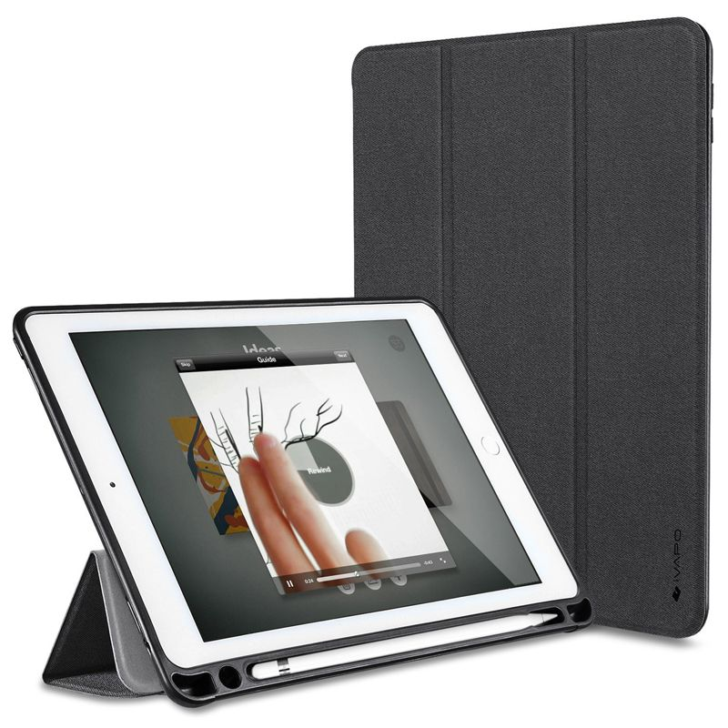 For Ipad Pro 10 5 Case Pu Leather Slim Smart Cover With Pencil Holder Auto Sleep Wake For Apple Ipad Pro 10 5 Inc Ipad Pro Apple Pencil Holder Apple Ipad Pro