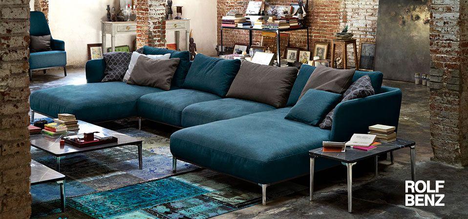 Rolf benz sofas und sessel drifte wohnform sofa wohnzimmer m bel und wohnzimmer couch - Rolf benz esszimmer ...