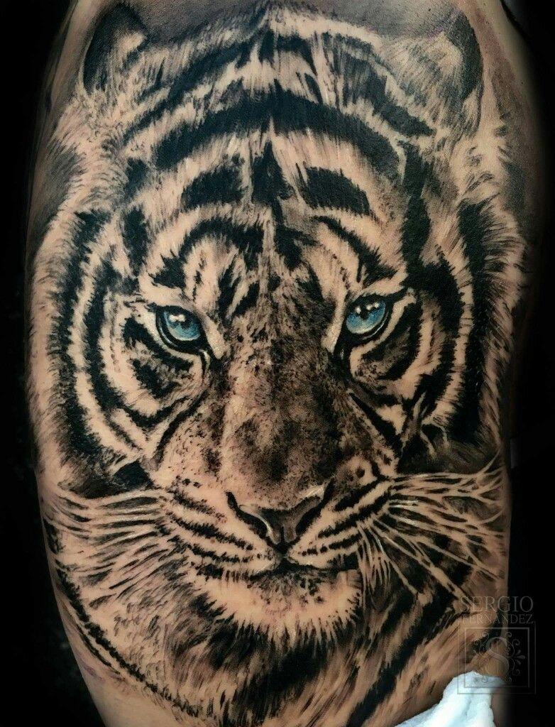 Tygrys Pies Pomysły Na Tatuaż Tatuaże I Kot