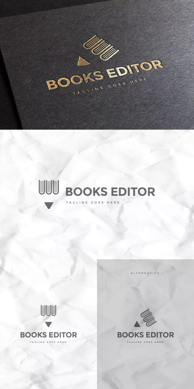 Book publisher logo template ai eps logo pinterest logo book publisher logo template ai eps maxwellsz