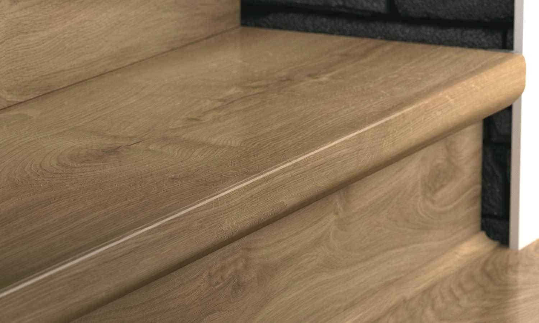 5 Days Ago Laminate Flooring On Stairs Hardwood Stairs Stair | Bruce Hardwood Stair Treads | Trim | Autumn Glen | Plywood | Red Oak | Nose Molding