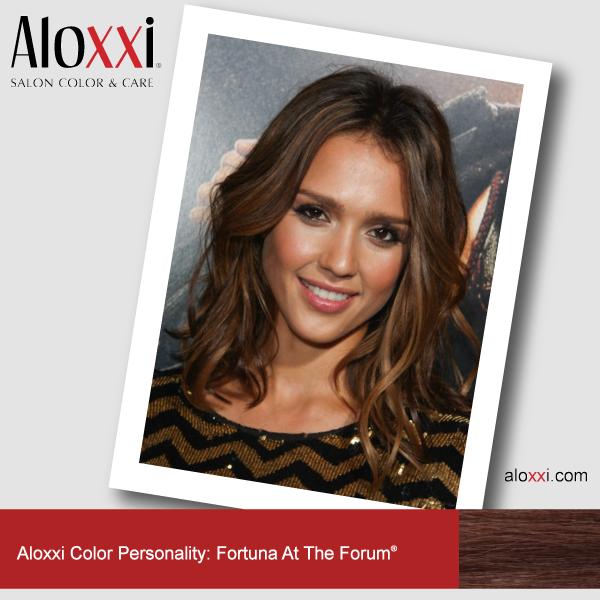 Jessica Alba Aloxxi Color Personality Fortuna At The Forum