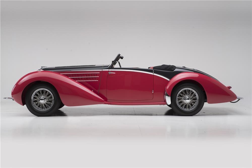 1937 DELAHAYE 135 M ROADSTER - Barrett-Jackson Auction Company ...