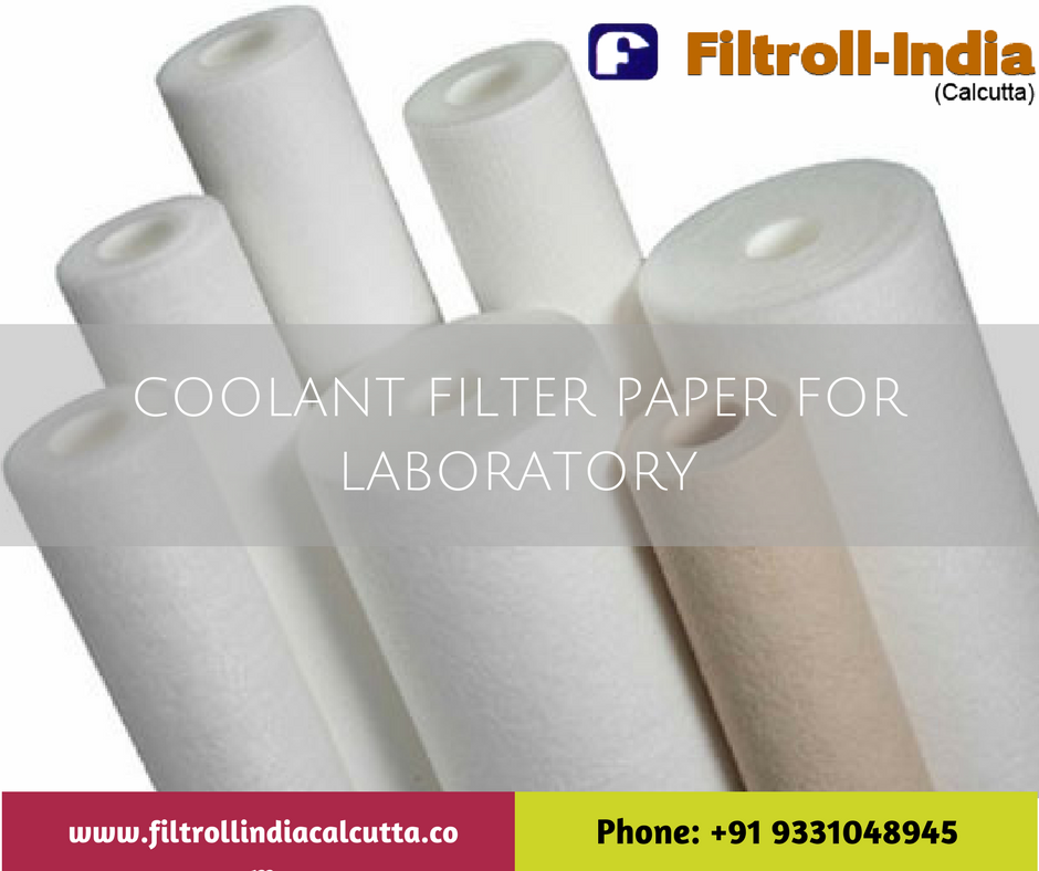 Coolant filter paper for laboratory use Paper
