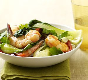 Bok Choy Is A Popular Chinese Vegetable That Easily Pairs With Shrimp For Sensational Stir Fry Recipe
