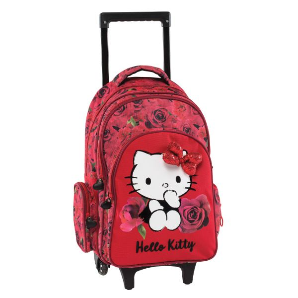 c9fdc69e99d Hello Kitty Σχολική Τσάντα Δημοτικού Trolley Κόκκινη | Hello Kitty ...
