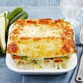 Zucchini, Sweet Potato & Ricotta Lasagna  - Coles Recipes & Cooking Soooo good. Might put in a bit more sweet potato next time.