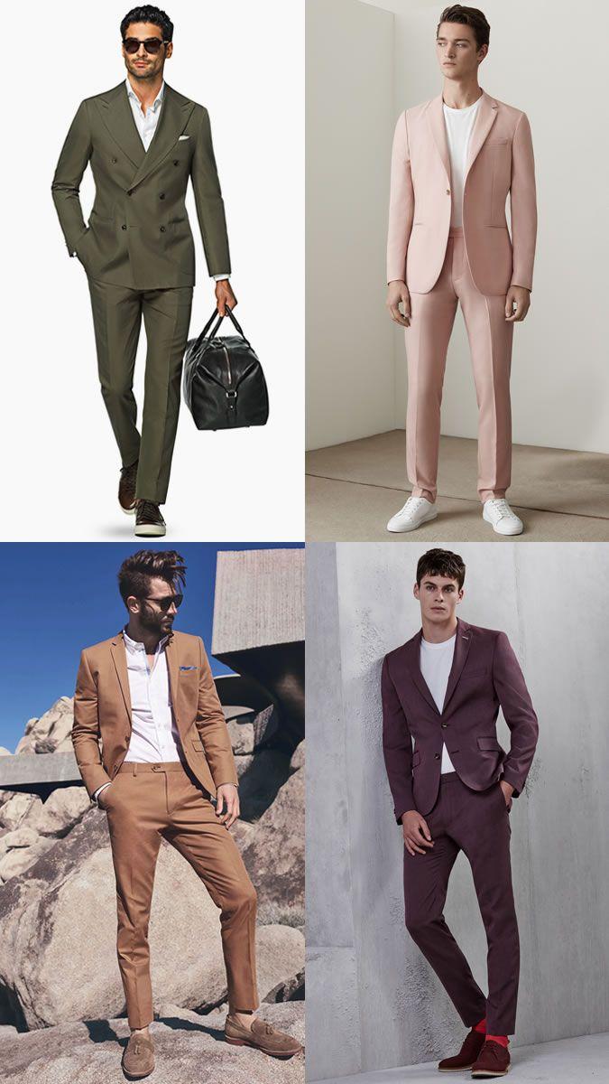 ba5b15d5 The Men Suit for Spring/Summer: The Statement Colour Suit Lookbook ...