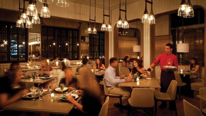 Edge Restaurant Miami Four Season Hotel