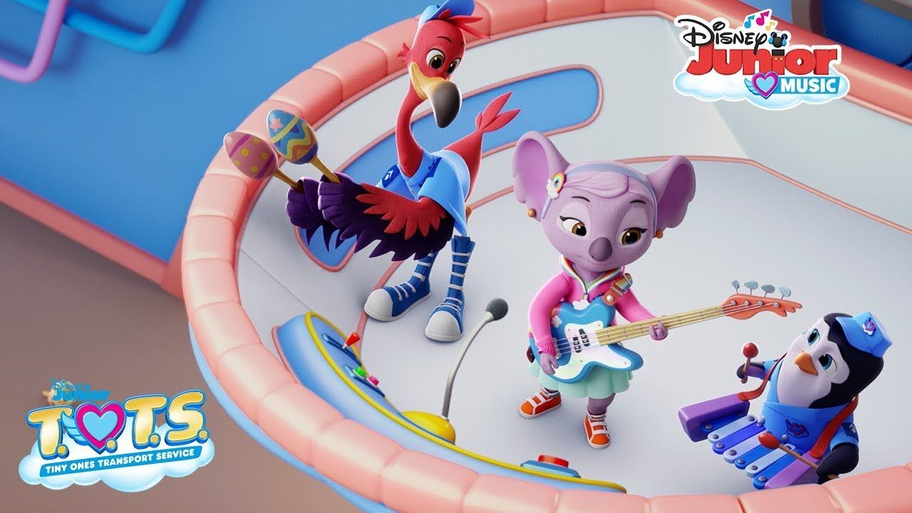 Lullaby Song Music Video T O T S Disney Junior Disney Junior Lullaby Songs Baby Animals Songs